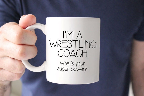 Gift For Wrestling Coach Coach Birthday Gift Personalized Coach Gift Coffee Mug Unique Gift Idea Funny Gift Coach Gift Idea