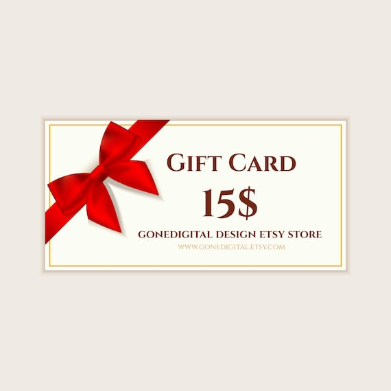 last minute gift idea christmas gift card for my shop christmas gift
