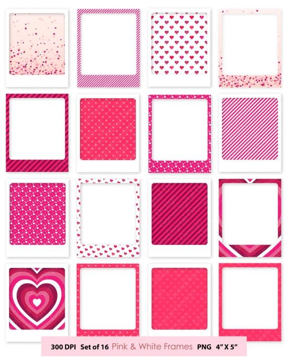 Digital Frame Clipart Frames Pink Frame Clip Art Commercial Use ...