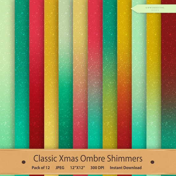 christmas digital paper shimmer digital shimmer paper christmas