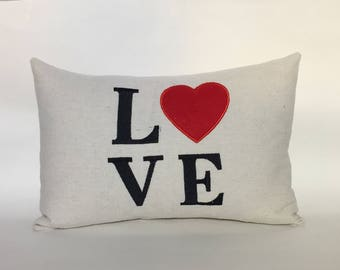 Love Pillow 12x16