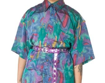 d345093350c Vintage 90 s Christian Dior Short Sleeve Shirt – XL