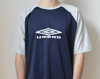 a42f92d875c7 90s White Adidas V Neck Top M blue tank tshirt sportswear