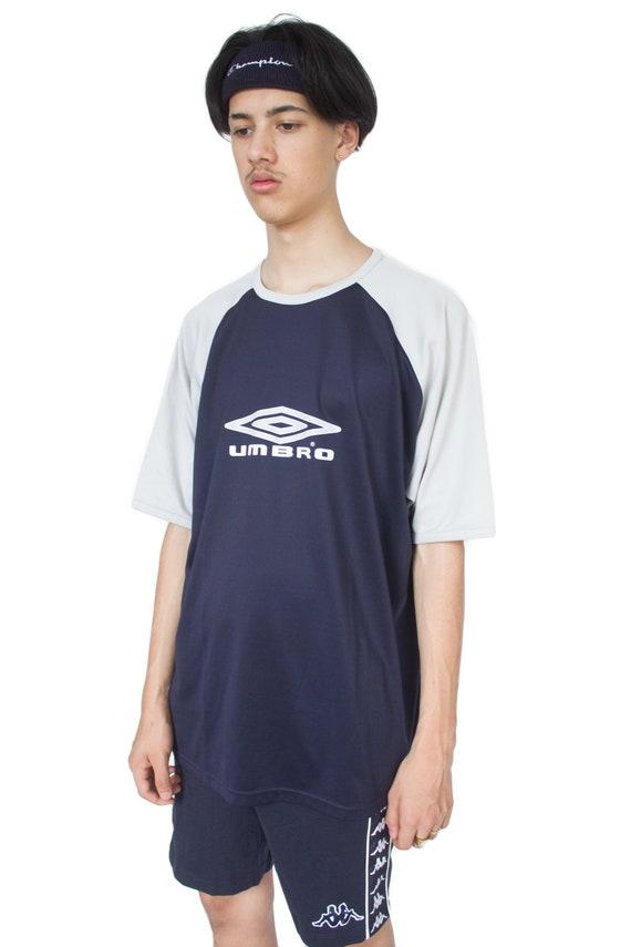 c9a7898a3ee0 Vintage 90 s Navy Umbro T-shirt – XXL