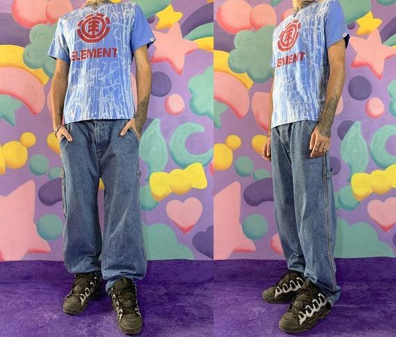 90s Skater Denim Pants Wide Leg Jeans Trousers Tim