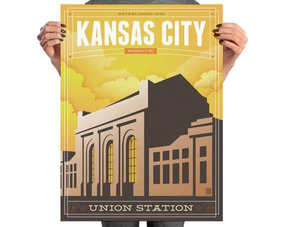 Union State Matte Litho Print