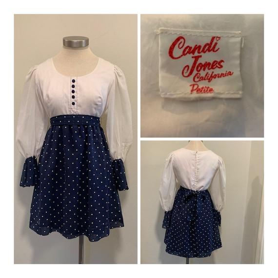 Late 1960's Vintage Dress ~ Candy Jones Of Califor