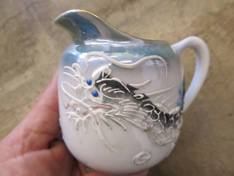 Vintage Japanese Dragonware Creamer