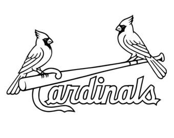 More Colors St Louis Cardinals Logo