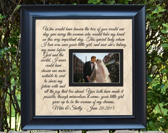 Wedding Gift For Parents Father Of The Bride Gift Mother Of Etsy