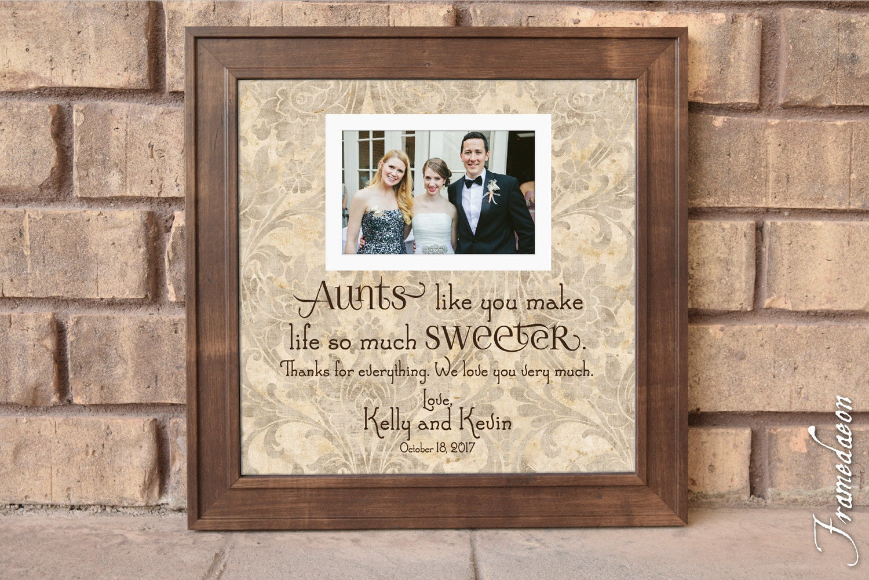 Aunts like You Frame Aunt Gift Aunt Frame Aunts Wedding | Etsy