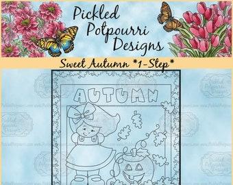 Sweet Autumn *1-Step* Digital Stamp Download