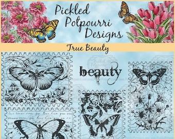 True Beauty Digital Stamp Download