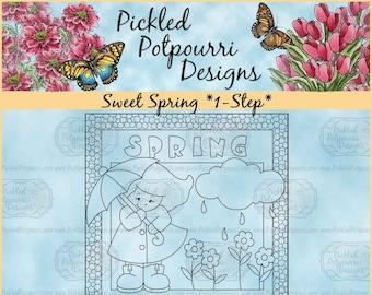 Sweet Spring *1-Step* Digital Stamp Download