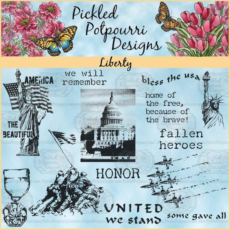 Liberty Digital Stamp Download image 0