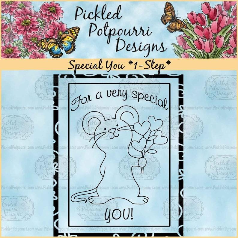 Special You 1-Step Digital Stamp Download image 1