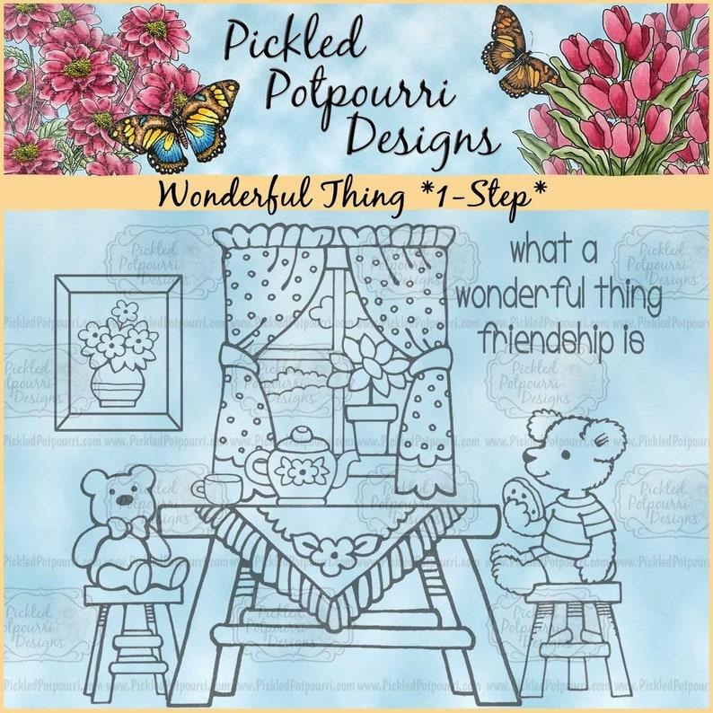 Wonderful Thing 1-Step Digital Stamp Download image 0