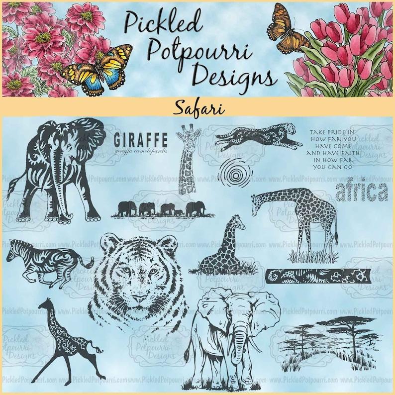 Safari Digital Stamp Download image 0