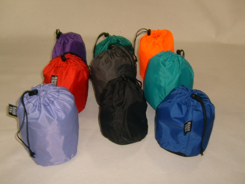 Tiny stuff sacks drawstring nylon bag Perfect for Camping  2f4e39a5e7e51