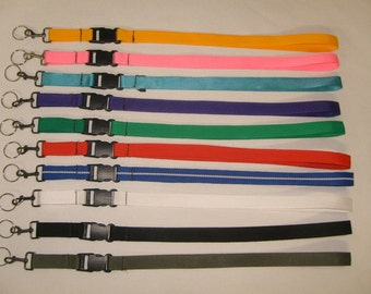 "Key chain strap with 1"" quick Release buckle,Lanyard Neck strap Made in U.S.A."