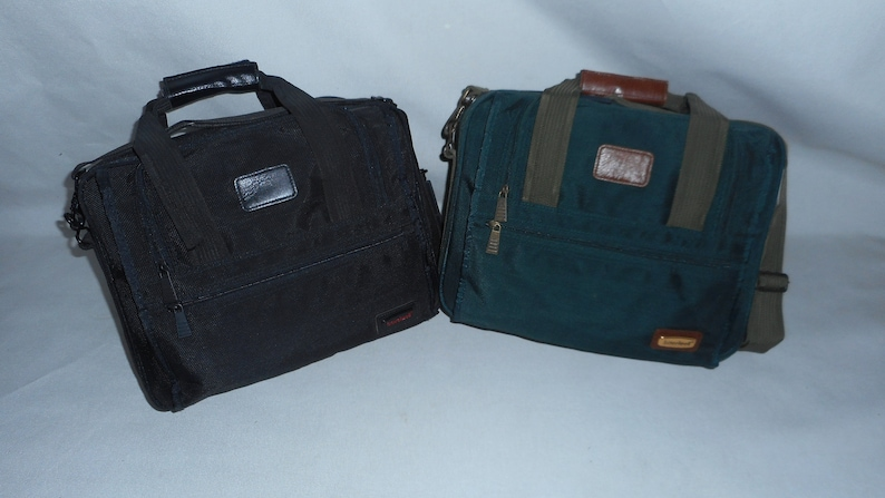 laptop briefcase fully padded Briefcase two separate compartment organizer pockets.