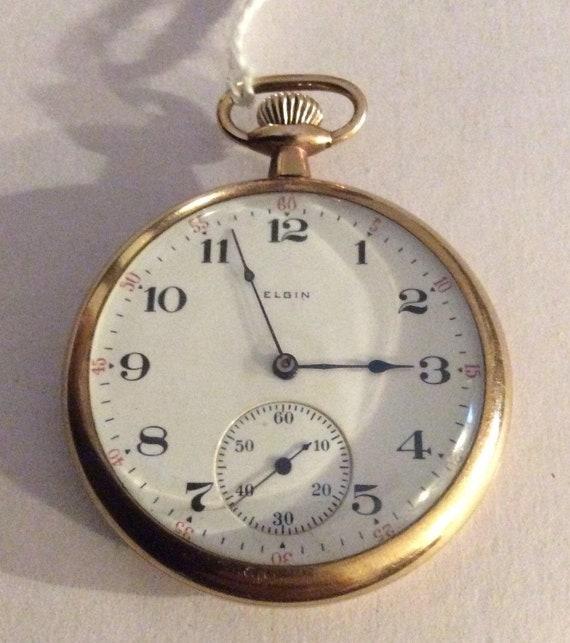 ELGIN Pocket Watch, ELGIN Goldfilled Pocket Watch,