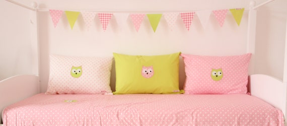 Pillow Cover Lime Green Uni 50 X 70 Cm