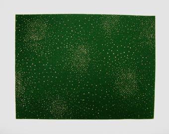 1 Piece of White Sparkle 100/% Acrylic Felt 22.8cm x 30.4cm 9 x 12
