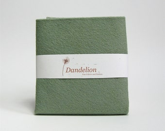 "1 Piece of Sage Green Wool Blend Felt 45.6cm x 30.4cm (18"" x 12"")"