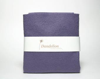 "1 Piece of Violet Wool Blend Felt 45.6cm x 30.4cm (18"" x 12"")"