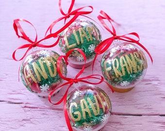 personalised christmas gifts christmas ornaments christmas baubles unique christmas gifts personalised christmas tree decorations