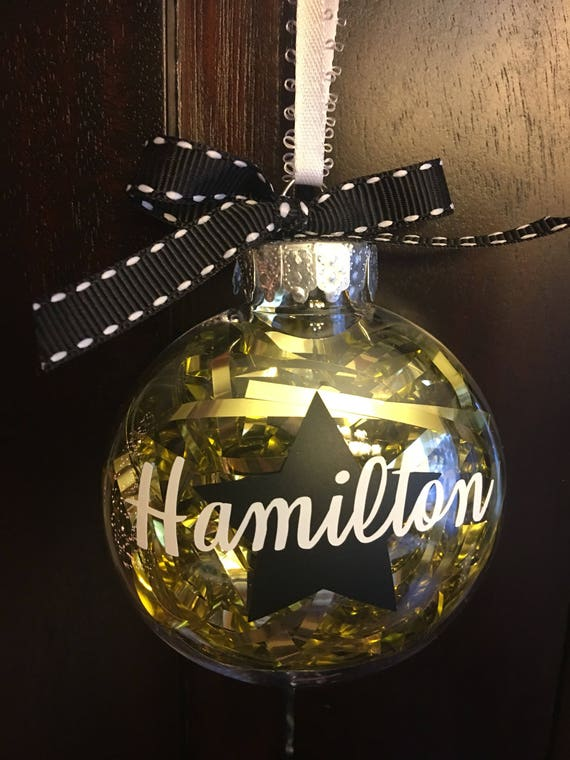 Hamilton Christmas Ornament.Hamilton Inspired Christmas Ornament Hamilton Musical Hamilton Ornament Personalized Christmas Decorations