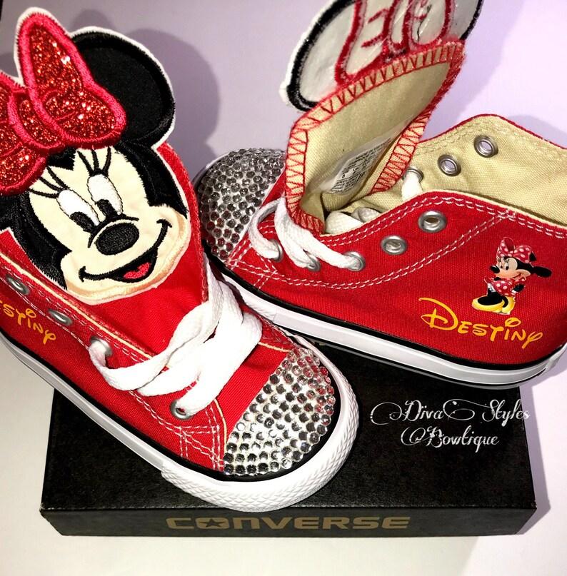 c8506fca5c2c4b Minnie Converse Birthday Converse Birthday Minnie Mickey