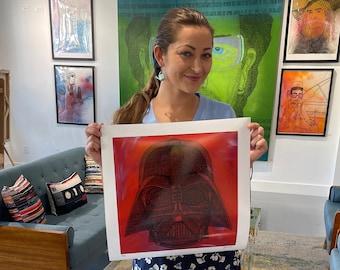 Darth Vader Fine Art Print