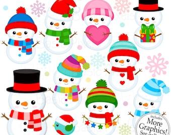 Cute Snowman Etsy
