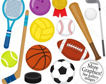 sports graphics etsy rh etsy com sports clipart free sports clipart to color