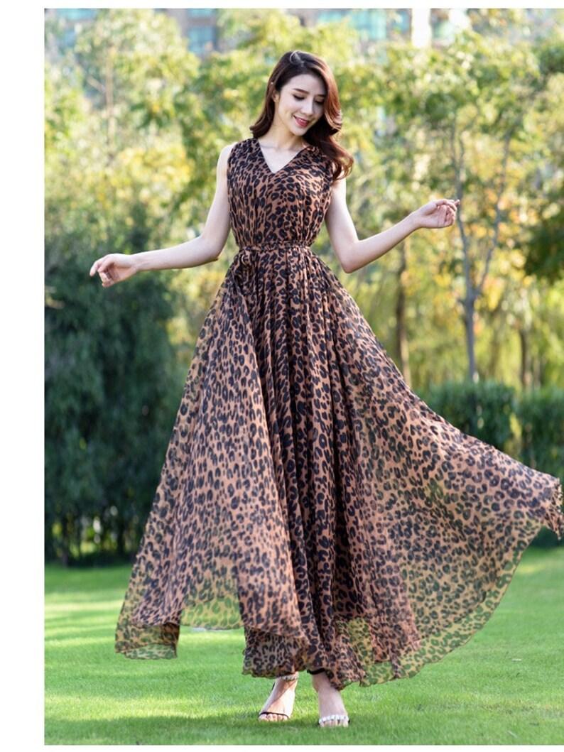 a8beef73c2e1 110 Colors Chiffon Brown Black Long Party Dress Evening