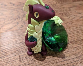 Spring Clover Gem Dragon