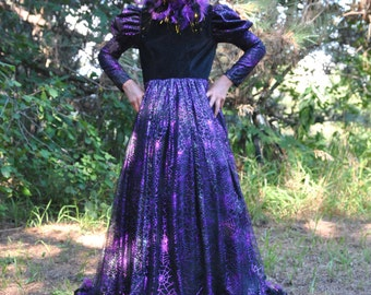 Glamourous Witch Costume for Girls