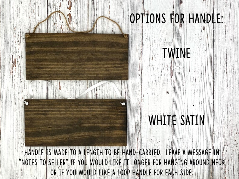 Rustic Hand Painted Wood Wedding Sign You are a lucky Man! Flower Girl Sign Ring Bearer Sign 12x5.5 Dark Walnut or Gray