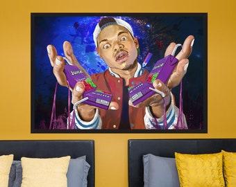 Chance the Rapper - Original Digital Art Hip Hop Rap Pop Culture Music Celebrity Poster | MassiahArts.com