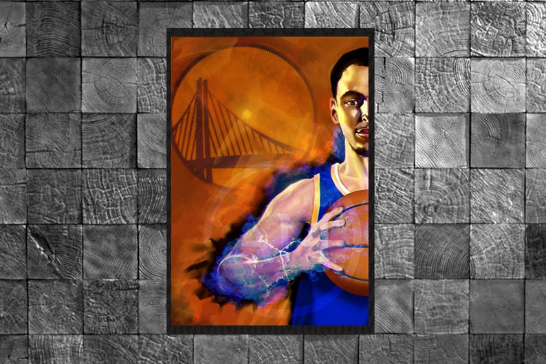 Stephen Curry  Original  NBA Golden State Warriors Sports image 0
