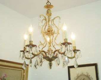 French chandeliers etsy crystal chandelier french chandelier chateau chandelier french country french lighting antique chandelier french home decor gold aloadofball Choice Image