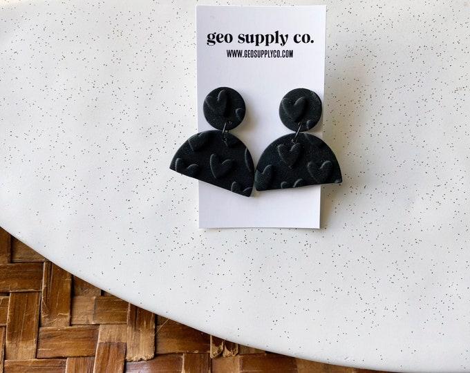 SHIPS IN 3-4 DAYS // Clay Earrings // Lightweight Polymer Clay Earrings // Stud Earrings // Drop Earrings // Gift Earrings // Geo Supply Co.