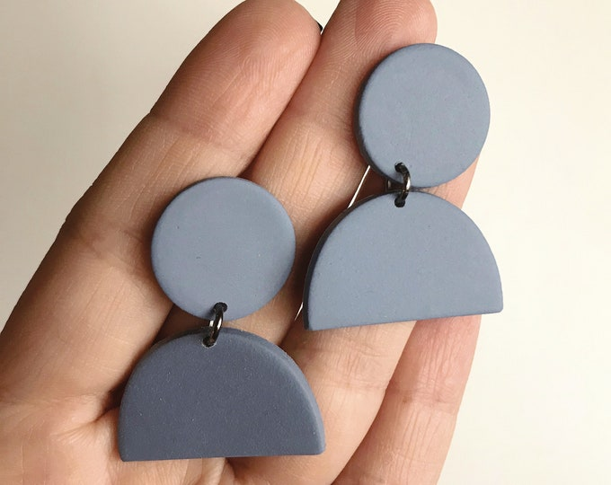 SHIPS IN 3-4 DAYS // Clay Earrings // Lightweight Polymer Clay Earrings // Drop Earrings // Gift Earrings // Geo Supply Co.