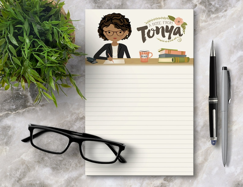 Boss Gift Personalized Notepad