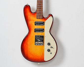 Handmade solid body electric guitar made from salvaged woods model HR-SB3