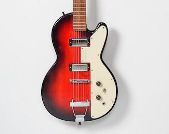 Salvaged wood Handmade solid body electric guitar model HR-SB2