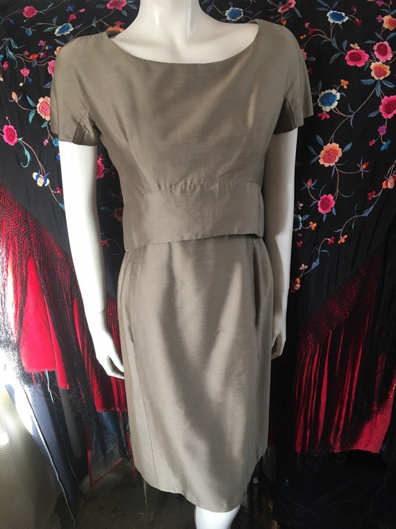Vintage Jacques Heim Chic Dress Cocktail Occasion