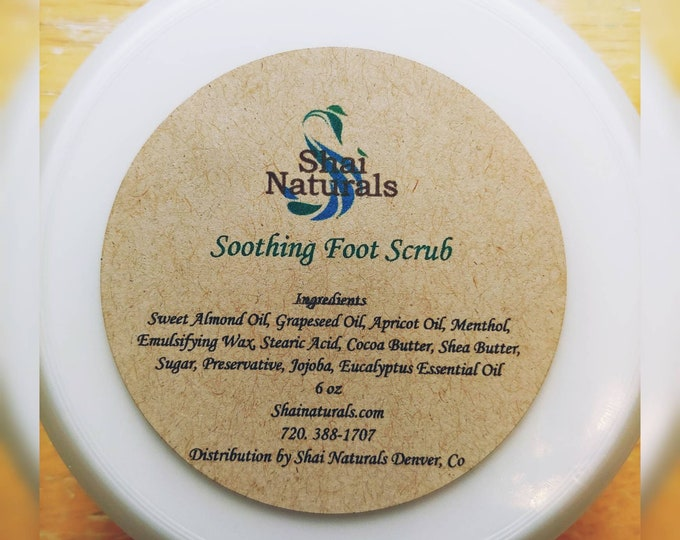 Soothing Foot Scrub